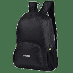 多色時尚收納輕便 防水後背包 / 購物袋 / 收納包 / 環保袋【B1501】(黑色)