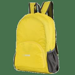 多色時尚收納輕便 防水後背包 / 購物袋 / 收納包 / 環保袋【B1501】(黃色)
