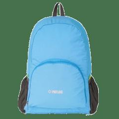 多色時尚收納輕便 防水後背包 / 購物袋 / 收納包 / 環保袋【B1501】(淺藍色)