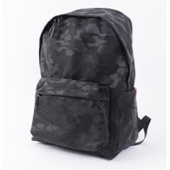 黑迷彩-時尚百搭尼龍防水後背包 / 迷彩後背包 / 防水包 / 尼龍包包【B7300】(黑色)