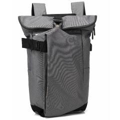 韓系旅人風造型電腦後背包 / 15.6吋電腦包 / 潮流背包【B8905】(灰色)