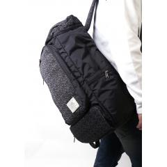 韓系運動休閒後背包/ 旅行包/ 電腦包 / 17吋電腦包【L3205】(黑色)