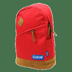 LECAF韓系斜格腰身豬鼻後背包【C2024】(紅色)
