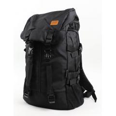 NO1銷售冠軍- 韓系帽蓋運動後背包【B9908】(黑色)