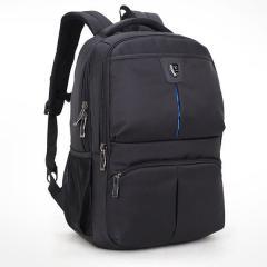 時尚挺立商務電腦後背包 / 15.6吋電腦包【B0176】(黑色)