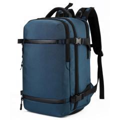 時尚多功能商務旅行包/ 17吋電腦包 /大容量後背包【B7983】(藍色)