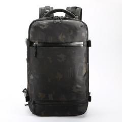 時尚多功能商務旅行包/ 17吋電腦包 /大容量後背包【B7983】(迷彩色)