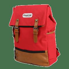 韓系反摺玩色造型後背包【L3301】(紅色)