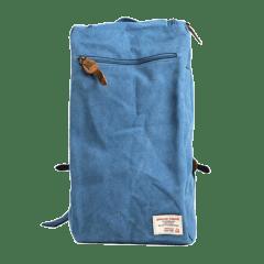 韓系洗水布造型後背包【L2122】(藍色)