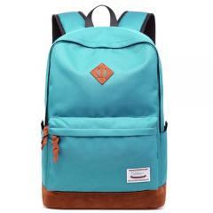 經典配色豬鼻後背包 /筆電包/ 電腦包【C3019】(綠色)
