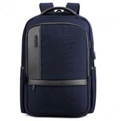 商務洽公時尚城市電腦後背包 /17吋筆電包【B00020】深藍色-賣場