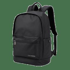 極地防水包-時尚圓弧造型 15.6吋筆電後背包 / 防水後背包【B063】(黑色)