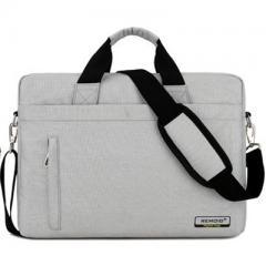 韓系時尚磨砂料電腦斜背包/15.6吋電腦包/及14吋電腦背包 【B181】(珍珠白色)