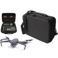 硬殼造型保護-暗黑空拍機斜背包 -DJI大疆空拍機Mavic 2 zoom/pro 使用的側背包【B6766】(黑色)