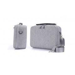 硬殼造型保護-雪花系空拍機斜背包 -DJI大疆空拍機Mavic 2 zoom/pro 使用的側背包【B6788】(灰色)