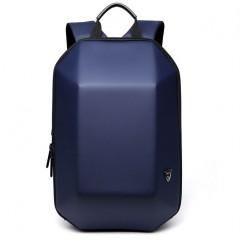 新美學時尚後背包-硬殼幾何造型機車後背包 / 筆電後背包【B8971】顏色:時尚寶藍