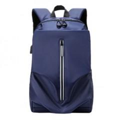 抓皺造型尼龍後背包 / 輕巧後背包 / 防潑水【B0105】藍色(賣場)