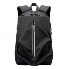 抓皺造型尼龍後背包 / 輕巧後背包 / 防潑水【B0105】黑色(賣場)
