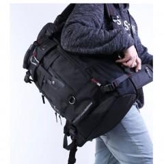 50L超大背包-極限掛勾四用後背包/50L大容量背包 / 側背包 /17吋電腦包【B2071】(黑色)