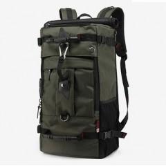 50L超大背包-極限掛勾四用後背包/50L大容量背包 / 側背包 /17吋電腦包【B2071】(軍綠色)賣場