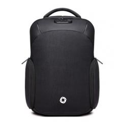 商務幾何防盜後背包 / 防潑水 /15.6吋筆電包【B8936】黑色
